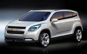 Chevrolet Orlando- 7-ми местный минивэн